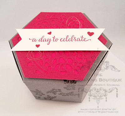 A Day To Celebrate - Hexagon Gift Box
