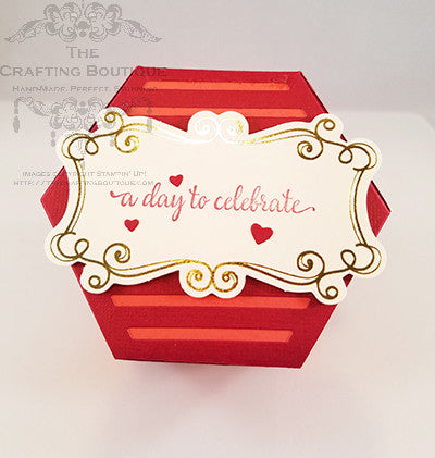 Hearts Celebrate - Hexagon Gift Box