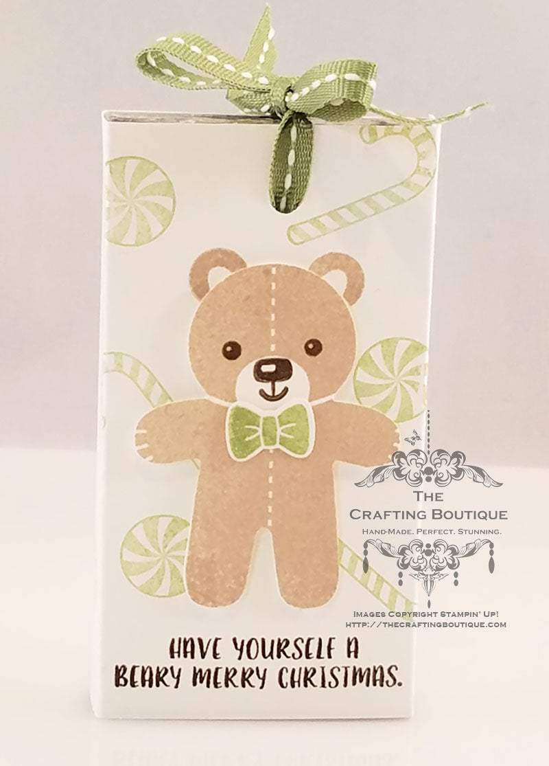 Beary Christmas Gum Wrappers