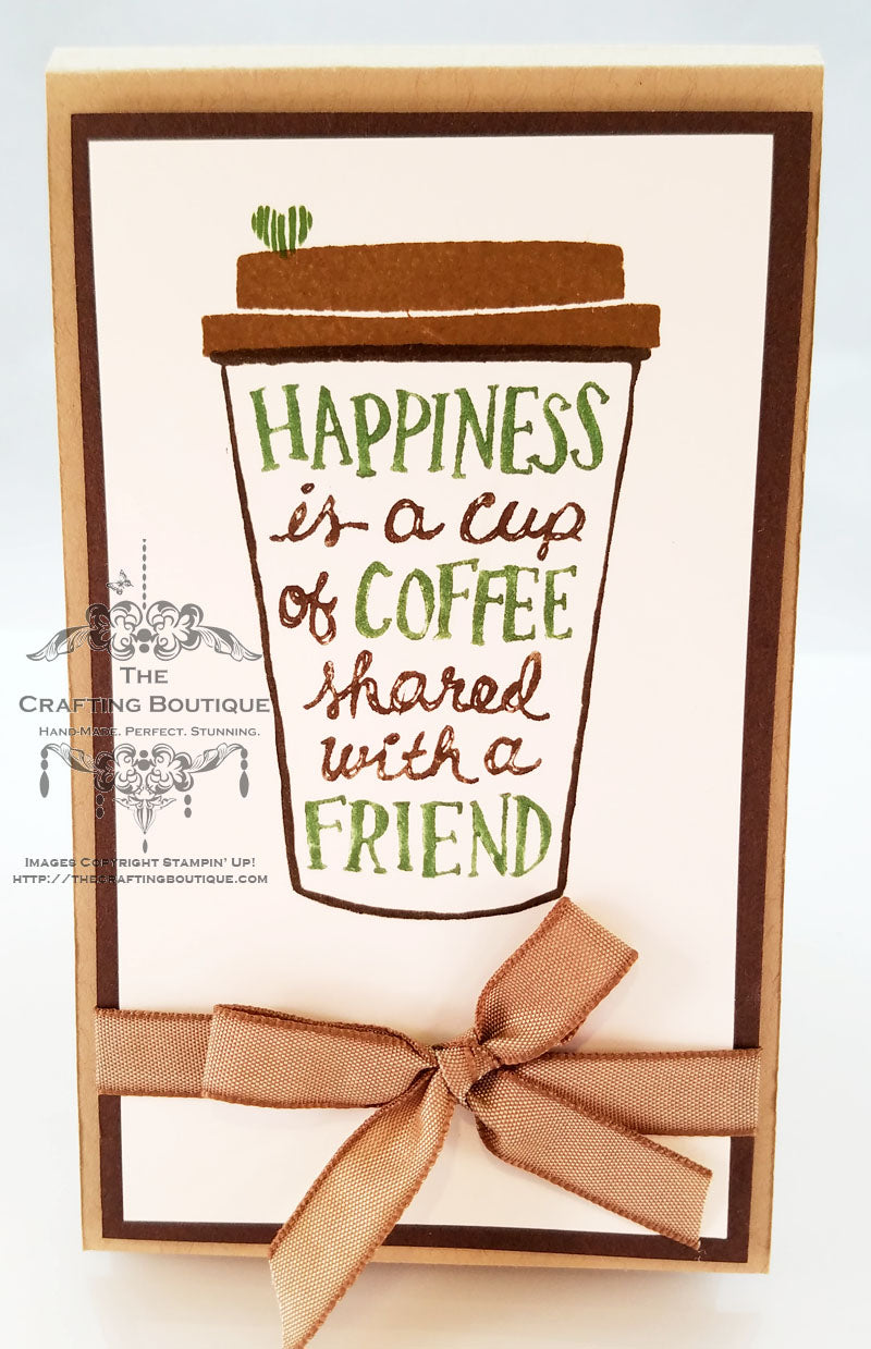 Coffee Cup Notepad (Friend)