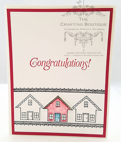 Home Congratulations Card