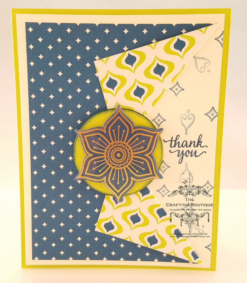 Thank you - Eastern Flair Card