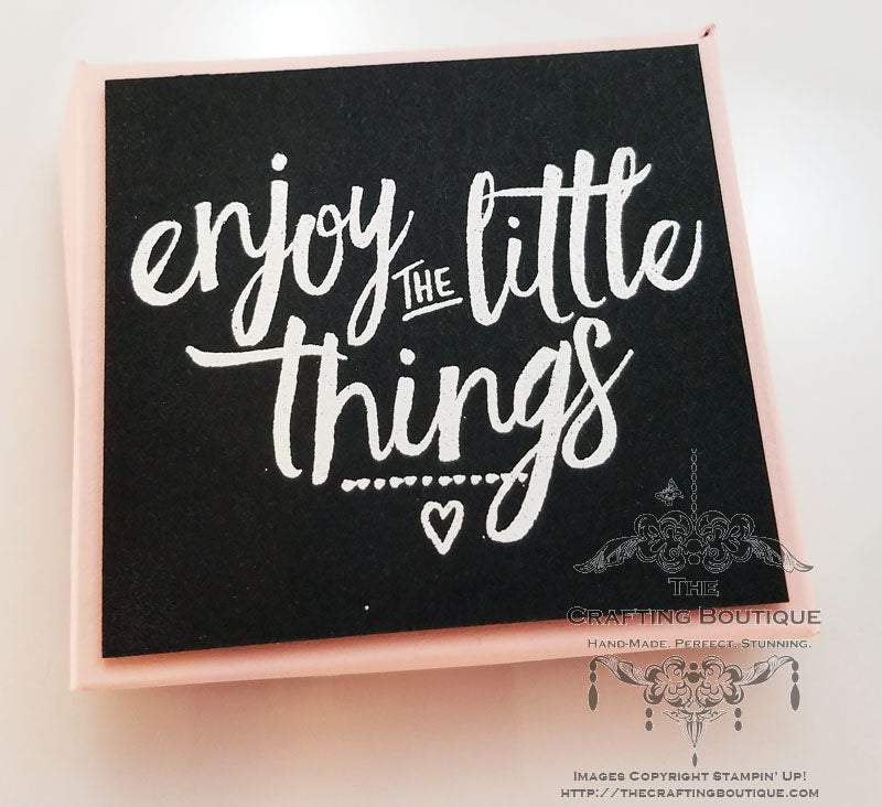 Enjoy The Little Things - Nugget box