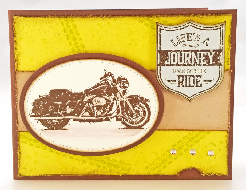Life's a Journey... Enjoy the Ride Card