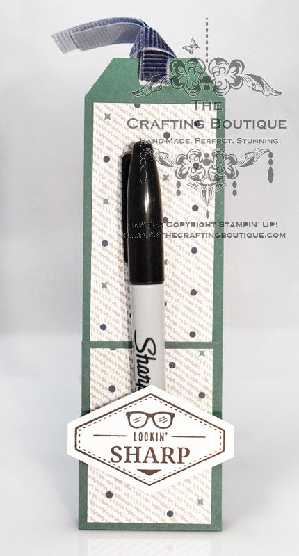 Looking Sharp! Sharpie Holder (Green) Gift