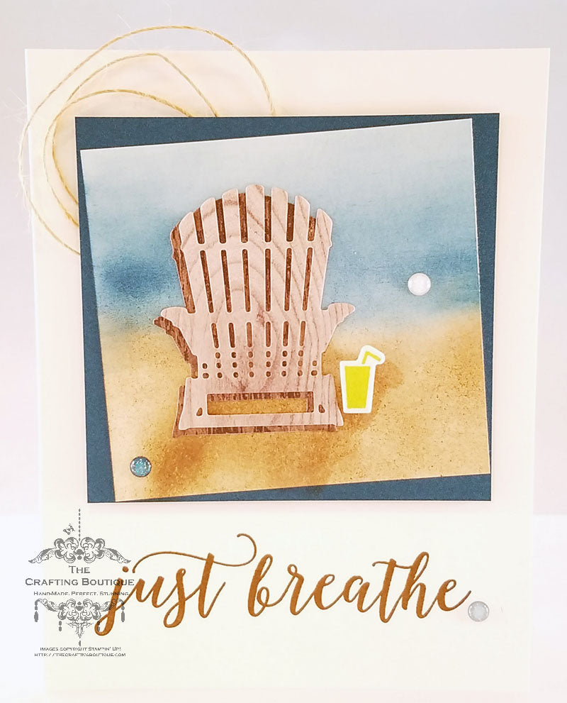 Just Breathe... Card