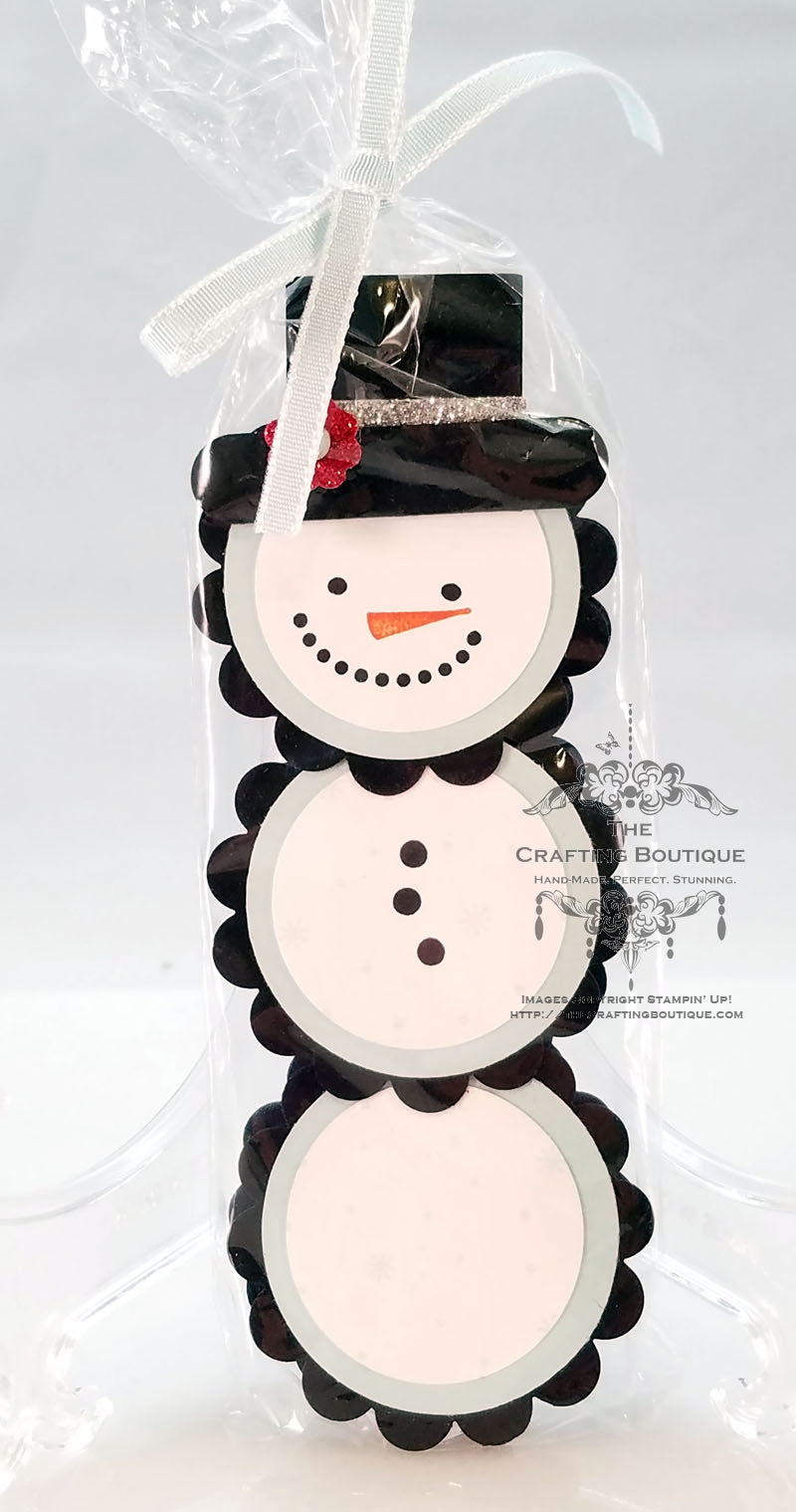 Peppermint Patty Snowman Gift