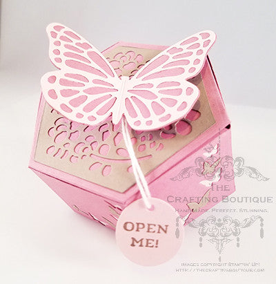 Butterflies - Hexagon Gift Box