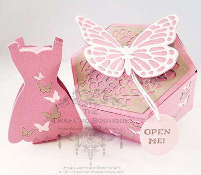 Butterflies - Lip Balm & Hexagon Gift Box