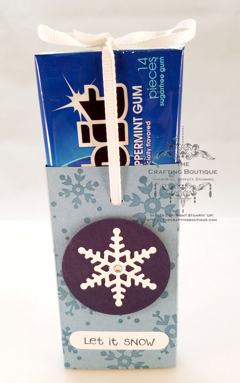 Snowflake Gum Wrappers