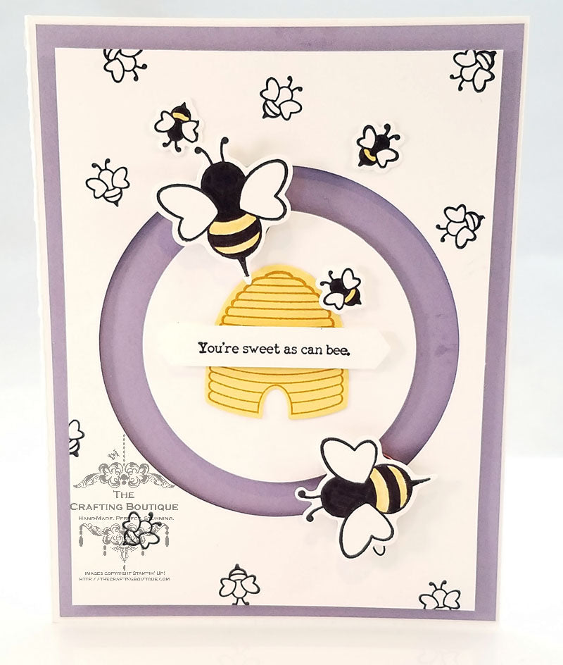 Sweet as can bee... Card