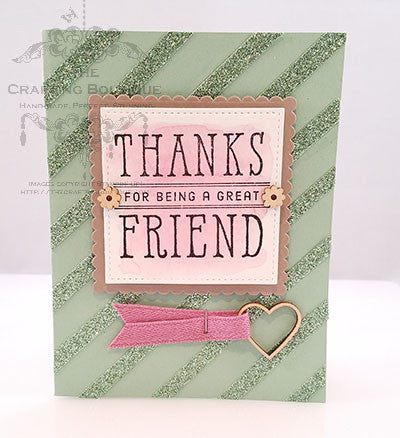 Thanks for Being a Great Friend Card