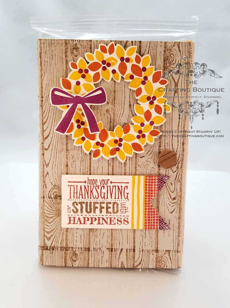 Thanksgiving Popcorn Gift
