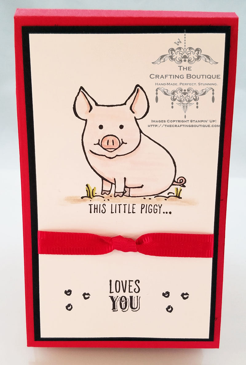 This Little Piggy Notepad (Loves You) Gift