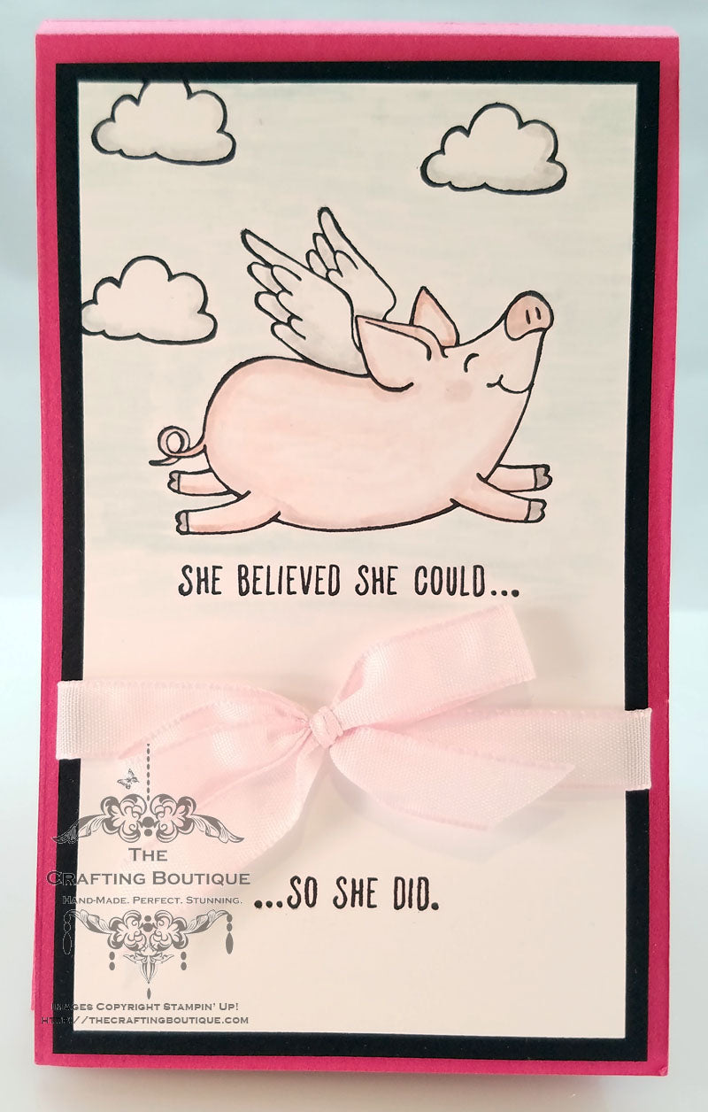 This Little Piggy Notepad (Believe) Gift