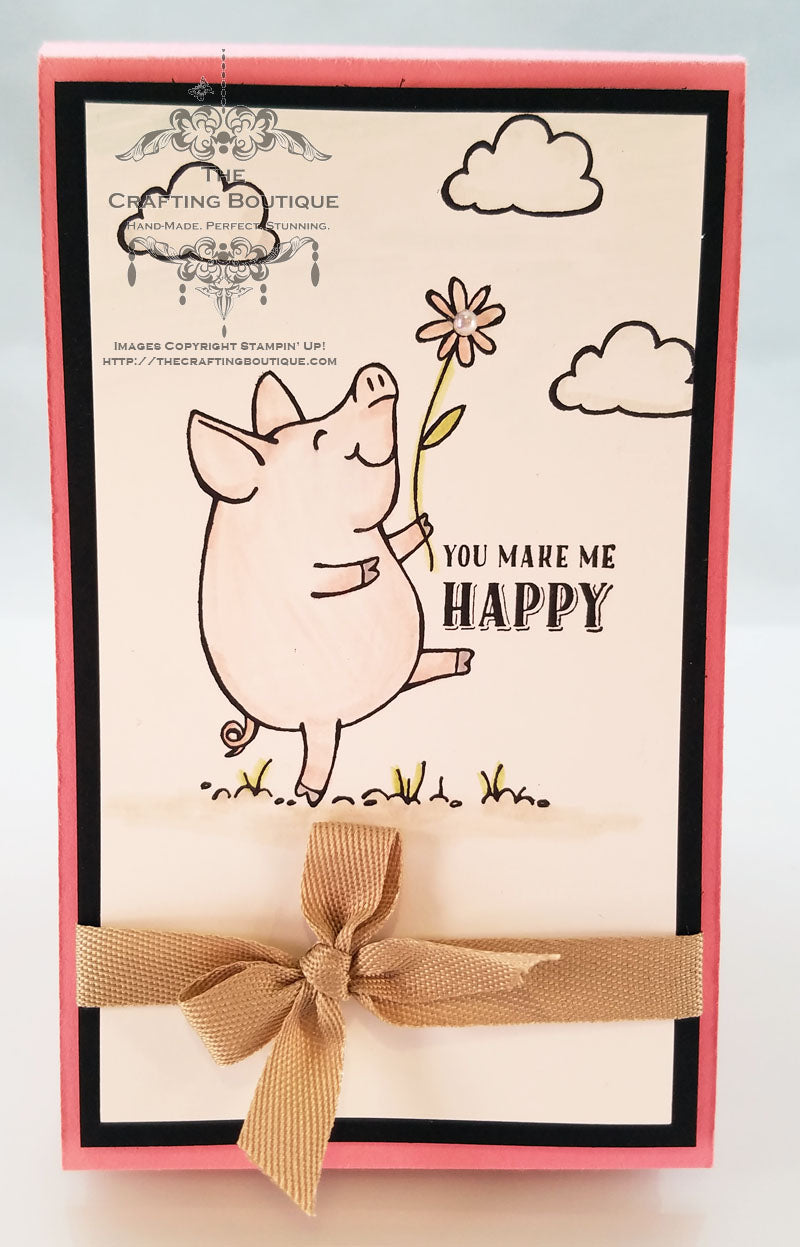 This Little Piggy Notepad (Happy) Gift