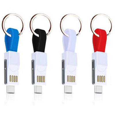 3 in 1 Charge Keychain Cable -  Electronics - BuyShopDeals