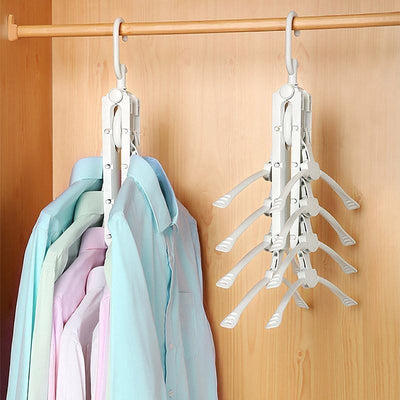 360 Degree Foldable Magic Hangers -  Home Improvement - BuyShopDeals