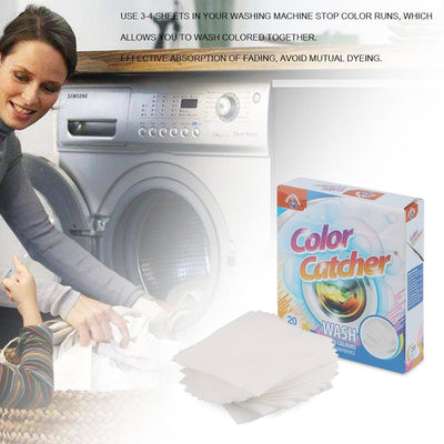 Laundry Dye -Trapping Sheets -  Home Improvement - BuyShopDeals