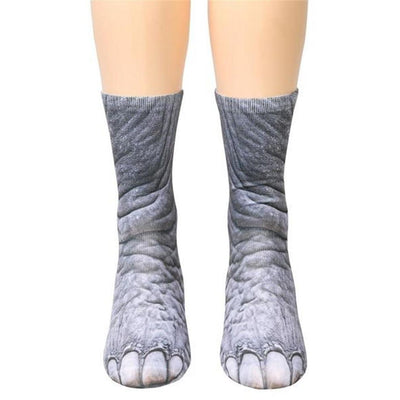 3D Animal Feet Socks -  Apparel - BuyShopDeals