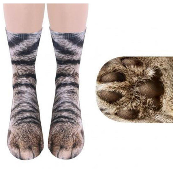 3D Animal Feet Socks