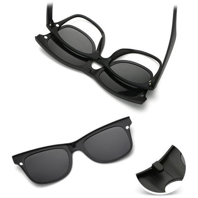 1cbe9a63bac 5-in-1 Magnetic Swappable Sunglasses - Accessories - BuyShopDeals