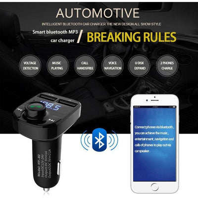 Hands Free Car Adapter -  Gadgets - BuyShopDeals