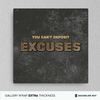 Excuses -  Decor - BuyShopDeals