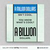 Million or Billion? -  Decor - BuyShopDeals