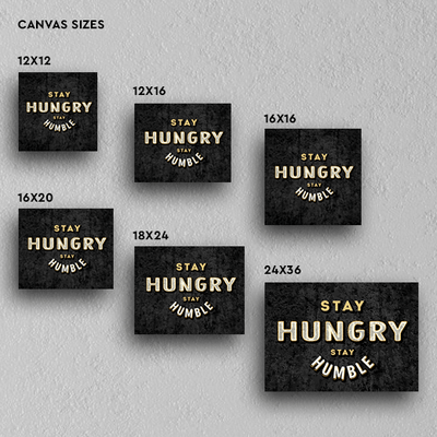 Stay Hungry -  Decor - BuyShopDeals