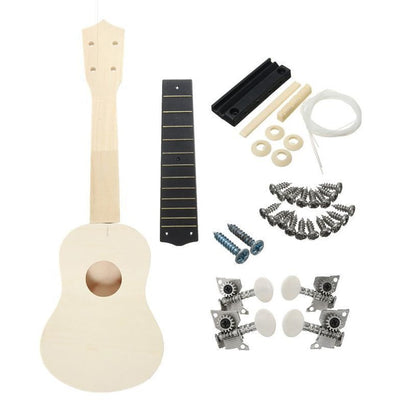 DIY Handmade Ukulele Kit -  Decor - BuyShopDeals