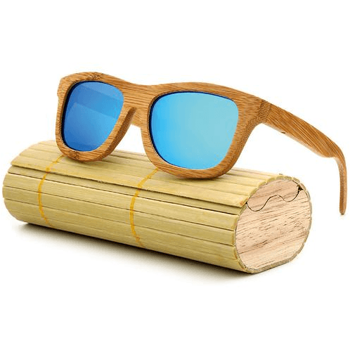 Bamboo Polarized Classic Sunglasses - Bachelor Hut