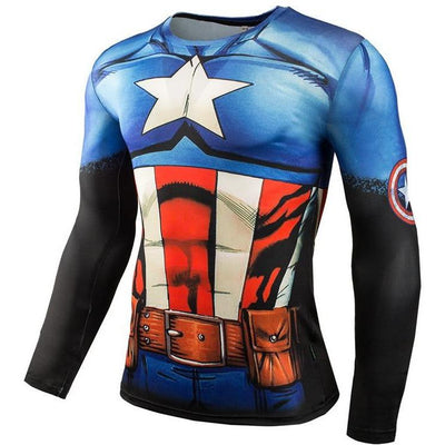 Fitness Compression Long Sleeve Shirts -  Apparel - BuyShopDeals