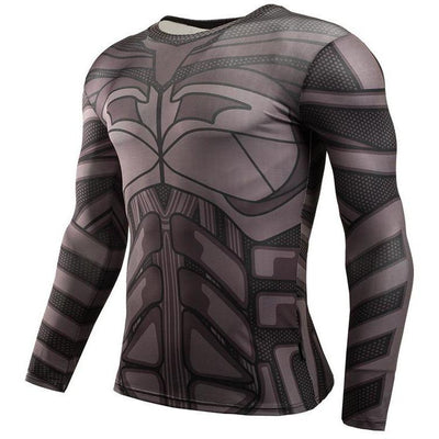 Fitness Compression Long Sleeve Shirts - Bachelor Hut