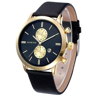 North Leonardo Double Quarts Luxury Watch - Bachelor Hut
