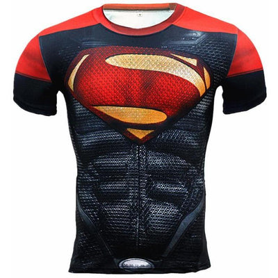 Fitness Compression Short Sleeve Shirts -  Apparel - BuyShopDeals