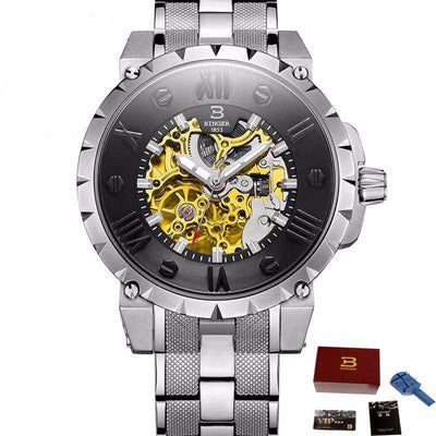 Binger Sapphire Crystal Luxury 3D Watch -  Watches - BuyShopDeals