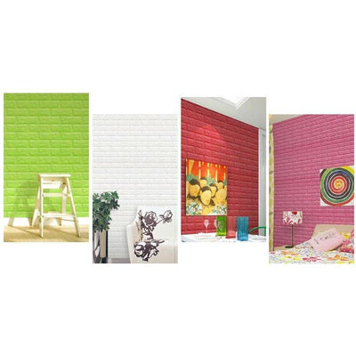 Foam 3D Wall Home Decor Wallpaper -  Decor - BuyShopDeals