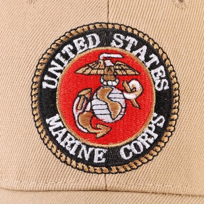 Marines Premium Emblem Baseball Hat -  Accessories - BuyShopDeals