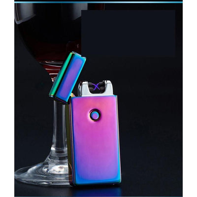 Electronic USB Double Bolt X Lighter -  Gadgets - BuyShopDeals