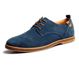 Leather Flat Premium Oxford Casual Shoes - Bachelor Hut