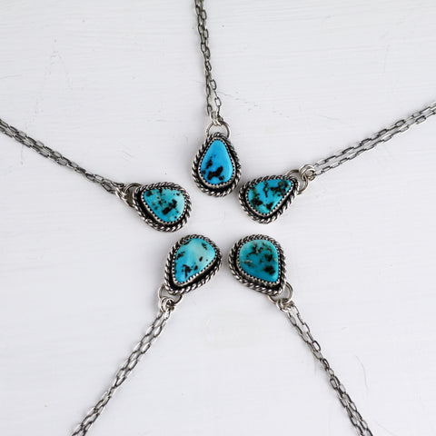 80 Smith Jewelry - Sleeping Beauty Turquoise set in Sterling Silver