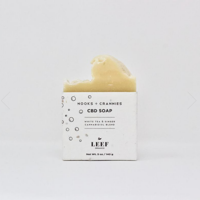 NOOKS + CRANNIES  Soap, White Tea - Ginger