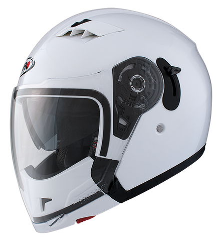 Casco Shiro SH-414 BOSS BLANCO