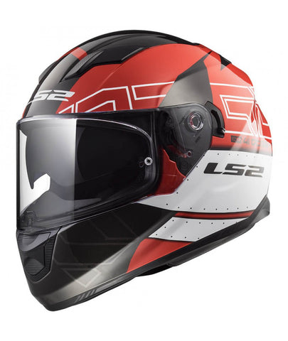 CASCO LS2 FF320 STREAM EVO KUB RED / BLACK