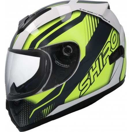 CASCO SHIRO SH-829 MOTEGI NIÑO AMARILLO