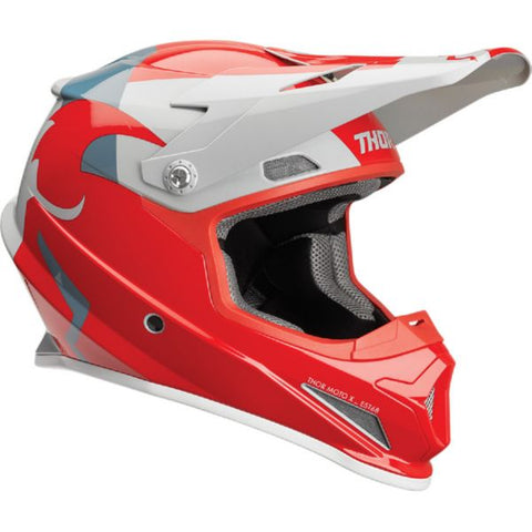 OUTLET CASCO THOR SECTOR ROJO / GRIS