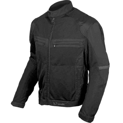OUTLET CHAQUETA UNIK CITY VZ-04 NEGRO