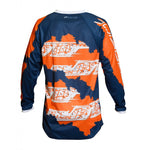 JERSEY JT RACING C4 RIPPER NAVY/FLOORANGE 2019