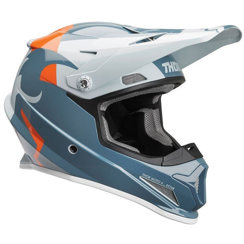 OUTLET CASCO THOR SECTOR S9 NARANJA/GRIS